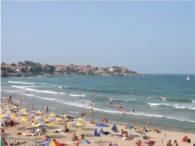 Болгария  Впечатления о Золотых песках и баталия в